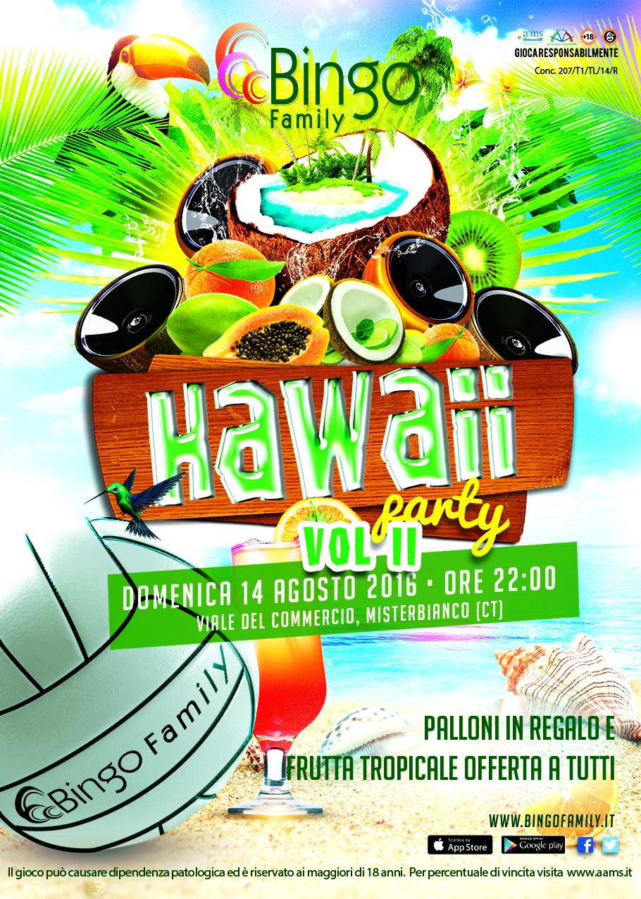 hawaii partyFlyer